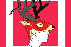 Self-deer-pink